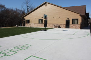 Branches Basketball Court Area